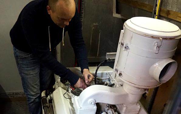 Reparatie en onderhoud van boten in friesland